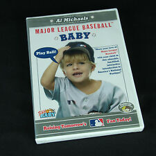 Major League Baseball Baby DVD Raising Tomorrows Fan Today MLB Ballpark Mascots