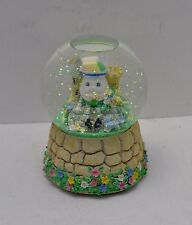 "San Francisco Music Box Humpty Dumpty ""Puss in Boots"" Water Glitter Globe Exc"