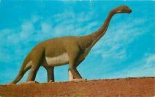Black Hills Teich Brontosaurus Dinosaur Rapid City South Dakota Postcard 2876