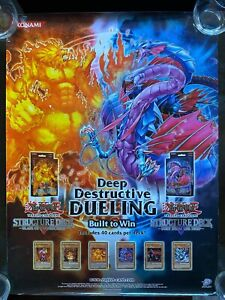 Yugioh Blaze of Destruction & Fury from the Deep Poster