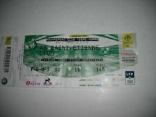 TICKET PLACE DU MATCH ST-ETIENNE ASSE SAINT-ETIENNE LYON OL 06/10/19 RARE FOOT