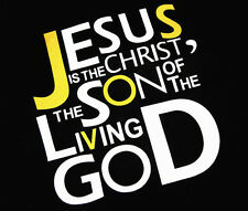 1 x New Jesus Living God Christ Son Auto Car Truck Vinyl Graphics Decal Sticker