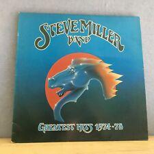 STEVE MILLER BAND Greatest Hits 1974-78 - 1978 UK Vinyl LP EXCELLENT CONDITION