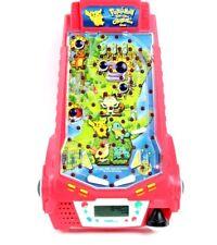Vtg Pokemon Thundershock Challenge Pinball Arcade Game Toy Tiger Electronics Euc