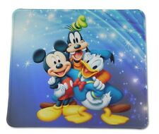 "Mickey Mouse Donald Duck Goofy !  Disney Disneyland MOUSE PAD 9 X 7"" US Seller"