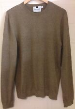 Topman Top Man Brown Marl Crew Neck Jumper M 40 Eur 96 - 101 cm
