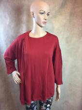 ZARA KNITTED TOP WITH GATHERED DETAIL SIZE LARGE B21 REF: 2619 810