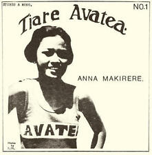 Anna Makirere - Tiare Avatea LP SEALED NEW / LIMITED EDITION OF 500 Cook Islands