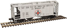 Atlas Trainman U.S. BORAX & CHEMICAL CORP. PS-2 Covered Hopper Cars RTR NIB