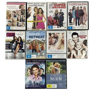 Bundle Lot Of 10 Romantic Comedy DVDs Heartbreakers, You've Got Mail, Jet Lag