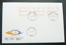 Aland 1988 ATM (Frama Label stamp FDC) *rare