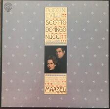 Puccini LE VILLI Maazel DOMINGO SCOTTO CBS MASTERWORKS LP M-36669 NM
