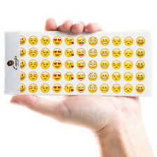 12 Sheets Cut Emoji Sticker for Phone Laptop Decor Scrapbooking Students UK NEW