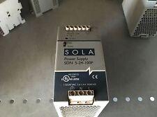SOLA Power Supply, SDN 5-24-100P, 115/230vac 2.2/1.0A, 24vdc/5A, 24-28v