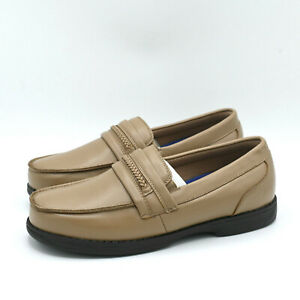 Dr. Scholl's Men's Casual Tan Beige Gel Cushion Slip on Loafer Shoes Sz US 8.5 D