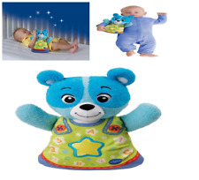 Teddy Bear Toy Doll Bedtime Blue VTech Baby Soothing Song Music Slumbers New