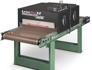"Vastex X2 Conveyor Dryer 30""  Belt x 7' w/ Digital Controls for Screen Printing"