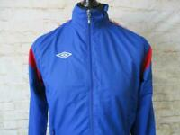 MENS UMBRO LINED TRACKSUIT TOP SIZE S / REF S0451