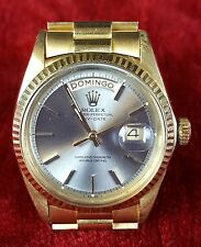 ROLEX WRIST WATCH. OYSTER PERPETUAL. DAY-DATE. GOLD 18 K. YEAR 1971.