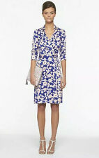 NWT Diane von Furstenberg DVF New Jeanne Two Wrap Dress 14 $398 Burma Rose