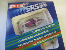 SRS Scalextric Jaguar XJR-9 SILK CUT New unrun boîte d'origine collection