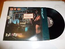 R.E.O. SPEEDWAGON - Hi Infidelity - 1981 UK 10-track vinyl LP