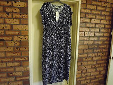 Brand New With Tags Autograph Pacific Blues Geometric Print Maxi Dress sz 18
