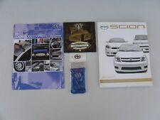 2006 Scion Accessories Brochure,Literature,Music Cd,Iron On,Stickers,Ipod Sock ?