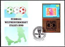 Paraguay 1986 FDC Mi.4446 Fußball Football [sp1166]