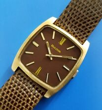 Vintage 1974 Mans BULOVA *N4* Hand Winding Fully Serviced