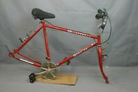 "1985 Schwinn Mesarunner City Hybrid Bike Frame Set X-Large 21"" Steel USA Charity"