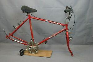 """1985 Schwinn Mesarunner City Hybrid Bike Frame Set X-Large 21"""" Steel USA Charity"""