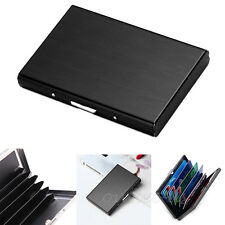Blocking Aluminum Wallet ID Credit Card Holder Protector Purse Hard Box Case