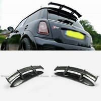 Carbon+FRP Rear Roof Window Spoiler wing For 06-13 Mini Cooper R56 Ver.2.11/2.12