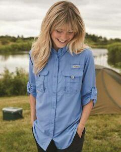 Columbia Women's PFG Bahama Long Sleeve Shirt 139656 XS-2XL