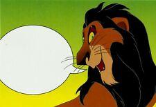 SCAR, THE LION KING, DISNEY VILLAINS POSTCARD, OFFICIAL USPS