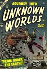 Journey Into Unknown Worlds 25 Comic Book Cover Art Giclee Repro on Canvas