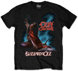 Ozzy Osbourne 'Blizzard Of Ozz' Black T-Shirt - NEW & OFFICIAL!