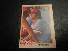 1978 OPC O Pee Chee #100 Pete Rose Reds