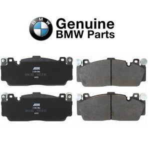 Front Slotted Brake Pad Set Genuine 34112284869 For BMW F06 F10 F12 F13 M5 M6 GC