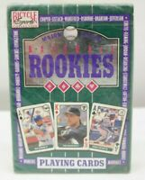 1992 Bicycle Major League Baseball Playing Cards Baseball Rookies  TY