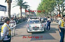 Henri Toivonen Martini Lancia Delta S4 Tour De Corse Rally 1986 Photograph 4