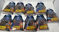 Hasbro Star Wars Revenge of the Sith 9 Figures Toys R Us Holographic Emperor Plo