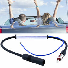 AM & FM Deluxe Inline Car Antenna Radio Signal Amplifier Amp Booster Wire 12V UK