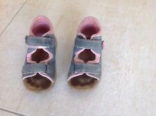 Superfit Sandale Mädchen Gr. 24, Rosa Blau Guter Zustand