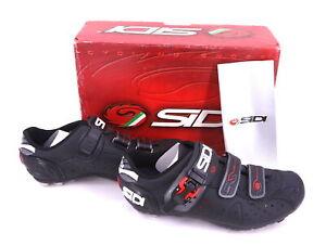 Sidi Dominator 5 Mountain Bike Cycling Shoes Mens 10.25 US/44.5 EUR Black NEW