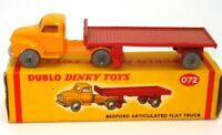 DINKY DUBLO NO. 72 BEDFORD ARTIC LORRY - A/MINT & BOXED