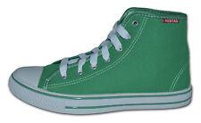 Mujer Botas De Lona, Por El Tobillo Zapatillas, verde, talla 10 (EUR 44)