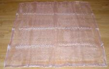 VINTAGE GOSSAMER SHEER PRETTY PALE PASTEL PINK  WOMEN'S WOMANS NYLON SCARF