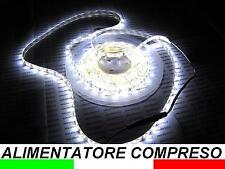 IP65 5m LED STRIP STRISCIA IMPERMEABILE BIANCO FREDDO DA ESTERNO C2B3.B1B1